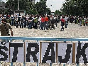 "Štrajk u kragujevačkom ""Partizanu"""