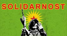 Solidarnost s oslobodilačkom borbom u Rožavi