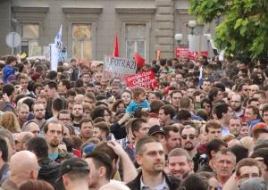 Ne davimo Beograd - socijalizam gradi, kapitalizam ruši